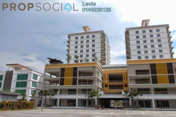 For Rent Condominium at Gaya, Melawati Freehold Fully Furnished 1R/1B 1.8k