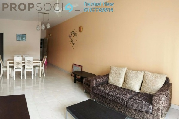 For Rent Condominium at Puteri Bayu, Bandar Puteri Puchong Freehold Fully Furnished 3R/2B 1.3k