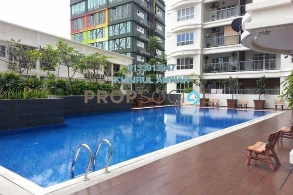 For Sale Condominium at Suri Puteri, Shah Alam Leasehold Semi Furnished 3R/2B 435k
