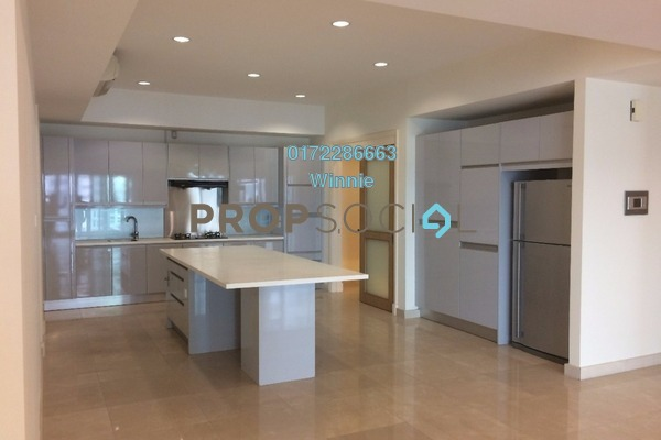 For Rent Condominium at 10 Mont Kiara, Mont Kiara Freehold Semi Furnished 5R/6B 13k