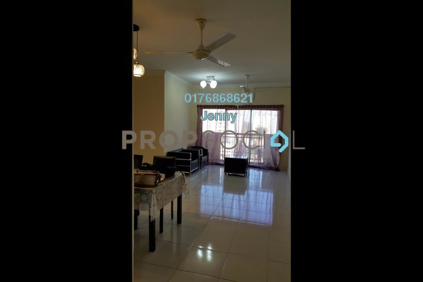 For Rent Apartment at Villa Pavilion, Seri Kembangan Freehold Semi Furnished 3R/2B 1.3k