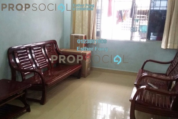 For Sale Apartment at Taman Sri Kuching, Jalan Ipoh Freehold Semi Furnished 3R/2B 250k