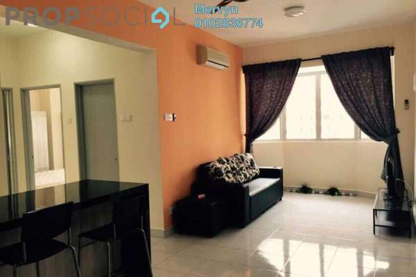 For Rent Condominium at Main Place Residence, UEP Subang Jaya Freehold Semi Furnished 2R/1B 1.6k