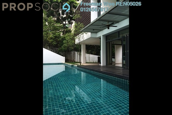 For Rent Bungalow at The Residence, Mont Kiara Freehold Semi Furnished 8R/10B 27k