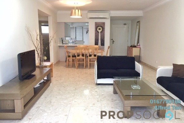For Rent Condominium at Mont Kiara Pelangi, Mont Kiara Freehold Fully Furnished 3R/2B 3k