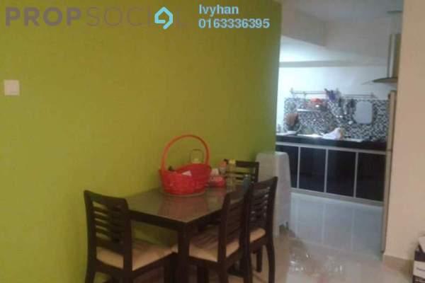 For Sale Apartment at Angsana Apartment, Bandar Mahkota Cheras Freehold Fully Furnished 3R/2B 270k