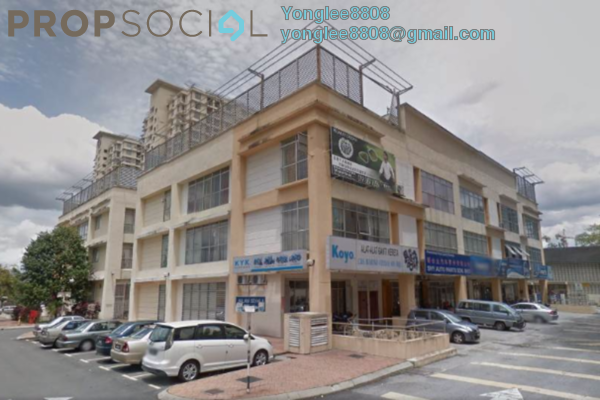 For Rent Shop at Warisan Cityview, Cheras Leasehold Fully Furnished 0R/0B 15k