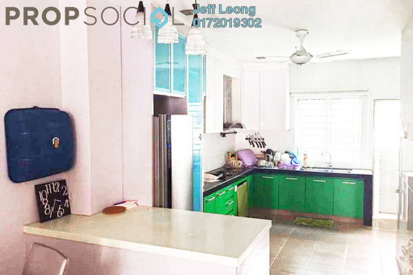 For Sale Terrace at Alam d'16, Shah Alam Leasehold Semi Furnished 4R/3B 650k