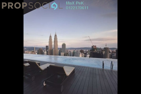 For Sale Condominium at The Manor, KLCC Freehold Semi Furnished 2R/2B 1.56m