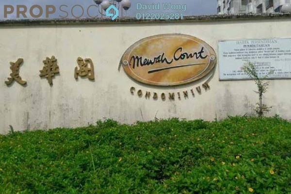 For Sale Condominium at Mewah Court, Kajang Freehold Semi Furnished 3R/2B 295k