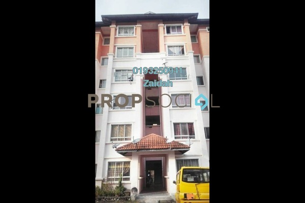 For Sale Apartment at Astana Alam Apartment, Kuala Selangor Leasehold Unfurnished 3R/2B 165k