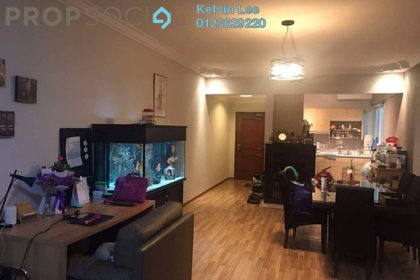 For Rent Condominium at De Tropicana, Kuchai Lama Leasehold Fully Furnished 3R/2B 1.5k