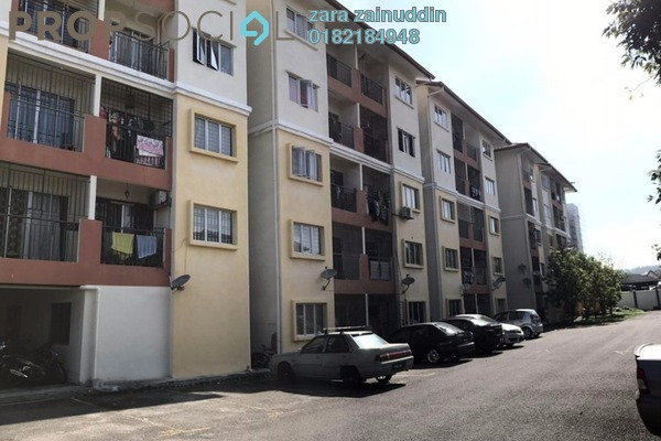 For Sale Apartment at Taman Tropika 2, Kajang Freehold Unfurnished 3R/2B 240k