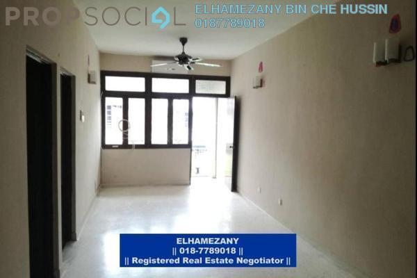 For Rent Apartment at Mahsuri Apartment, Setiawangsa Freehold Unfurnished 3R/2B 1.3k
