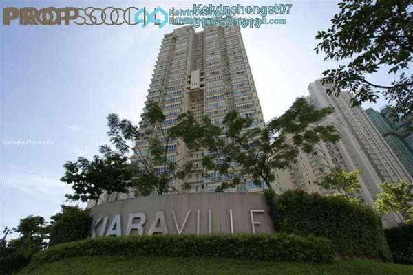 For Sale Condominium at Kiaraville, Mont Kiara Freehold Semi Furnished 4R/4B 2.8m