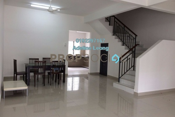 For Rent Terrace at Semenyih Parklands, Semenyih Freehold Semi Furnished 4R/3B 1.2k