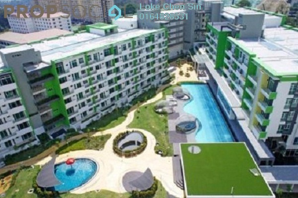 For Rent Apartment at Setia Tri-Angle, Sungai Ara Freehold Fully Furnished 3R/2B 1.8k