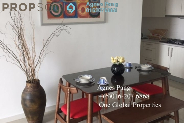 For Rent Condominium at Greenfield Regency, Skudai Freehold Fully Furnished 3R/2B 1.8k