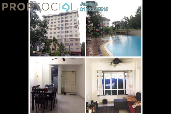 For Rent Apartment at Kristal Heights, Batu Caves Freehold Fully Furnished 3R/2B 1.4k