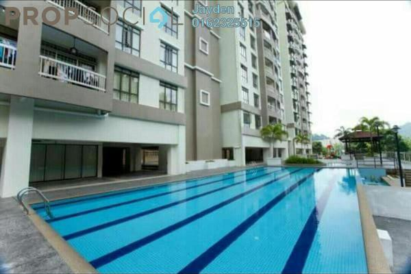 For Sale Apartment at KiPark Selayang, Selayang Freehold Semi Furnished 3R/2B 380k