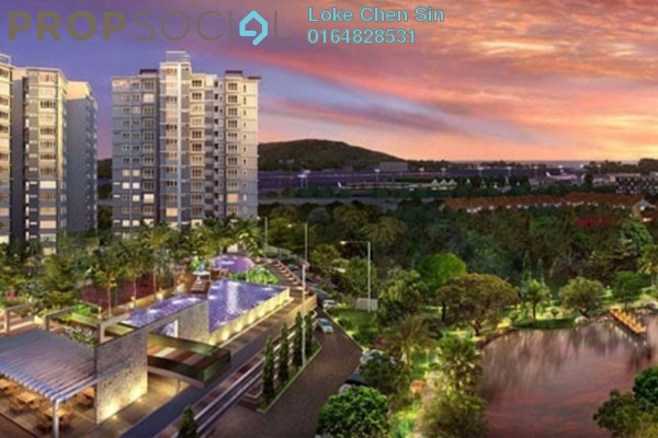 For Rent Condominium at Fiera Vista, Sungai Ara Freehold Fully Furnished 3R/3B 1.8k