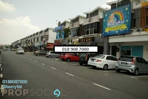 For Sale Shop at TTDI Grove, Kajang Freehold Semi Furnished 0R/1B 1.35m