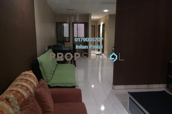 For Sale Condominium at Puri Aiyu, Shah Alam Freehold Semi Furnished 3R/2B 360k