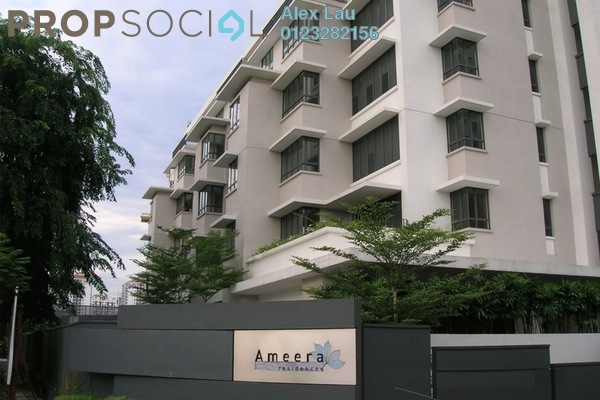 For Rent Condominium at Ameera Residences, Petaling Jaya Freehold Semi Furnished 3R/2B 3.1k