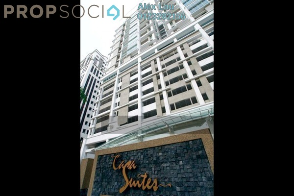 For Rent Condominium at Casa Suites, Petaling Jaya Freehold Fully Furnished 2R/2B 1.7k