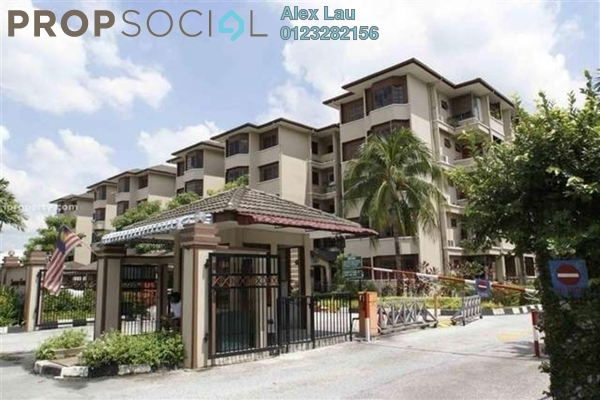 For Rent Apartment at Sunway Court, Bandar Sunway Leasehold Fully Furnished 3R/2B 2k