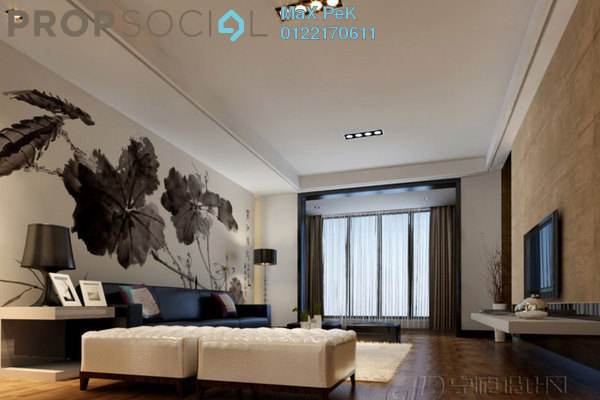 For Sale Condominium at Rica Residence, Sentul Freehold Unfurnished 3R/2B 647k
