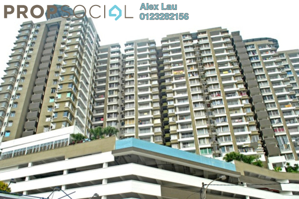 For Rent Condominium at Prima U1, Shah Alam Leasehold Fully Furnished 3R/2B 1.6k
