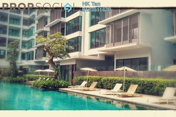 For Sale Condominium at Sastra U-Thant, Ampang Hilir Freehold Semi Furnished 4R/4B 2.97m