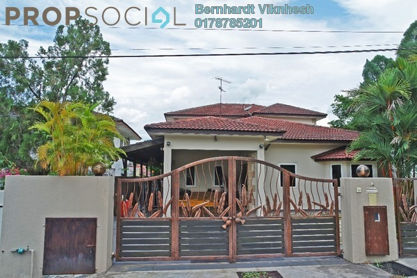 For Sale Bungalow at Section 6, Petaling Jaya Freehold Semi Furnished 5R/4B 2.3m