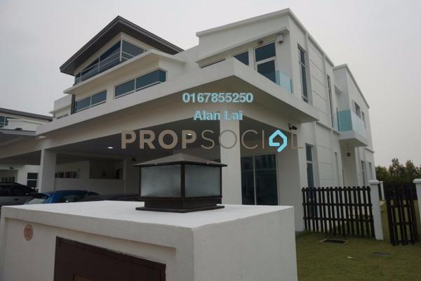 For Sale Semi-Detached at Perdana Lakeview East, Cyberjaya Freehold Semi Furnished 6R/6B 1.6m