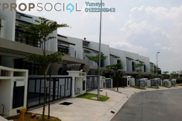 For Sale Terrace at Laman Glenmarie, Saujana Freehold Semi Furnished 4R/4B 900k