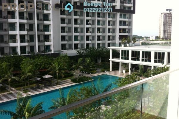 For Sale Condominium at CyberSquare, Cyberjaya Freehold Semi Furnished 2R/2B 388k
