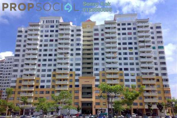 For Rent Condominium at Vista Millennium, Puchong Leasehold Semi Furnished 3R/2B 900translationmissing:en.pricing.unit
