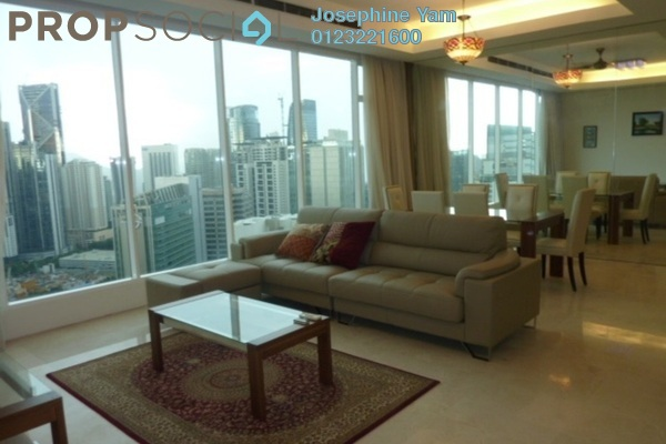 For Rent Condominium at Vipod Suites, KLCC Freehold Fully Furnished 3R/3B 8.5k
