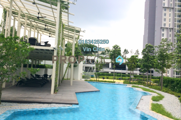 For Rent Condominium at Verdi Eco-dominiums, Cyberjaya Freehold Semi Furnished 4R/3B 2.7k