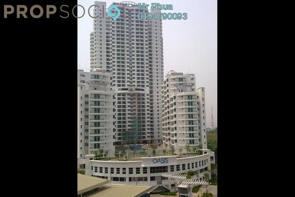 For Rent Condominium at The Oasis, Gelugor Leasehold Fully Furnished 3R/2B 2k