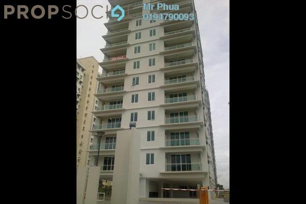 For Rent Apartment at The Uban Residence, Batu Uban Freehold Semi Furnished 4R/3B 2.2k