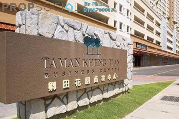 For Sale Apartment at Taman Kheng Tian, Jelutong Freehold Unfurnished 3R/2B 385k