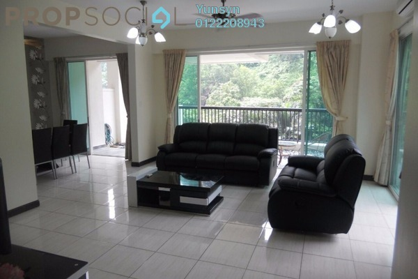 For Rent Condominium at Armanee Terrace I, Damansara Perdana Leasehold Fully Furnished 4R/4B 4k