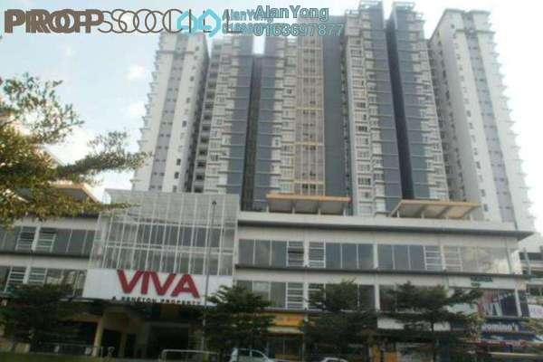 For Rent Condominium at Viva Residency, Sentul Freehold Fully Furnished 22R/2B 1.9k
