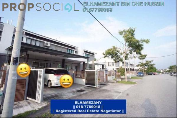 For Sale Terrace at Seri Pristana, Sungai Buloh Leasehold Semi Furnished 4R/2B 485k