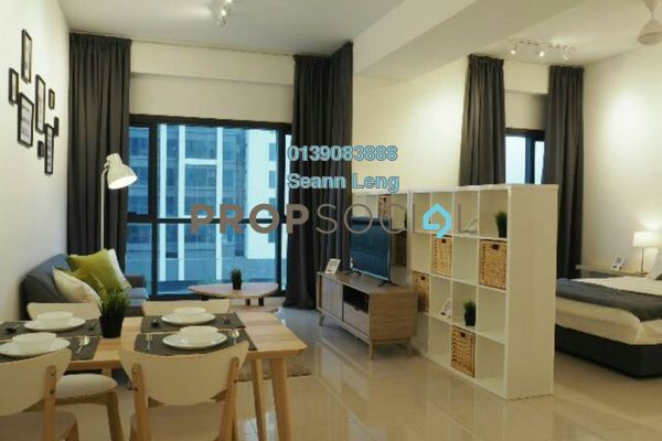 For Rent Serviced Residence at Tropicana Gardens, Kota Damansara Leasehold Fully Furnished 0R/1B 2.2k