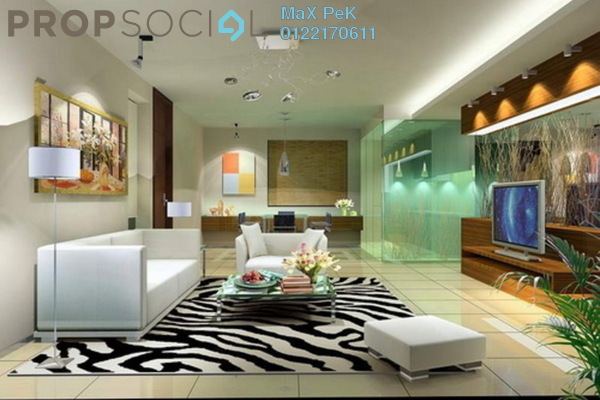 For Sale Condominium at Rica Residence, Sentul Freehold Unfurnished 2R/1B 453k