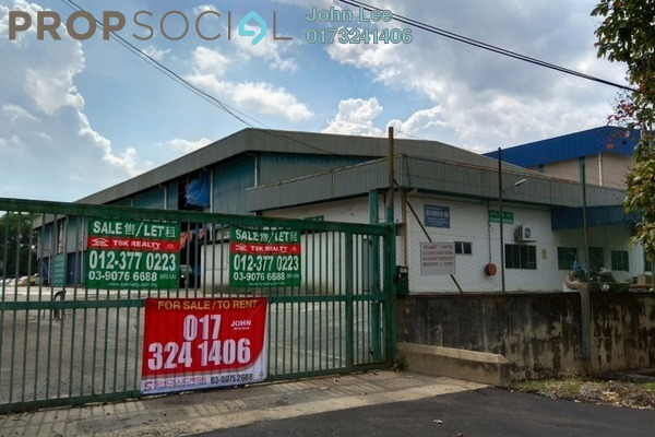 For Rent Factory at Arab Malaysian Industrial Park, Nilai Freehold Unfurnished 0R/0B 25k