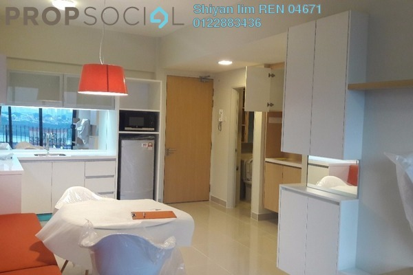 For Rent Condominium at Dex @ Kiara East, Jalan Ipoh Leasehold Fully Furnished 2R/1B 1.7k